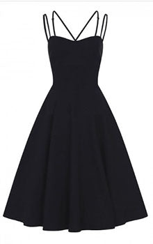 Collectif Mainline Byna Swing Dress