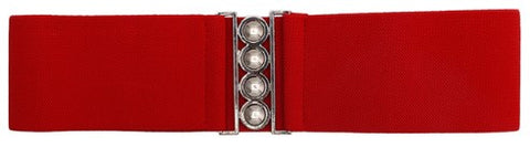 Cinch Belt Red
