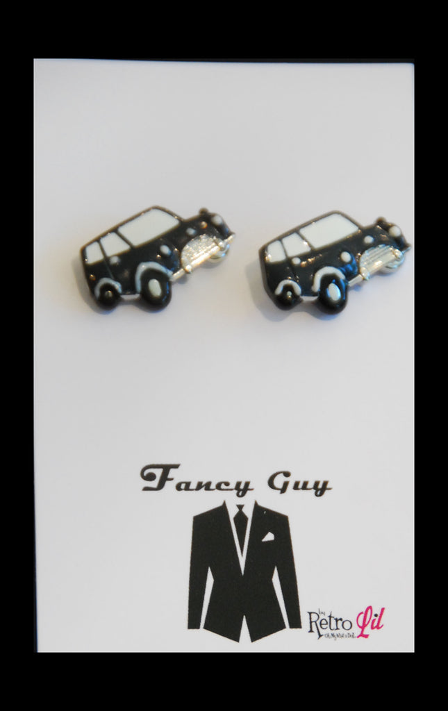Mini Cufflinks - Fancy Guy by Retro Lil