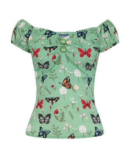 Collectif Dolores Top - Butterfly