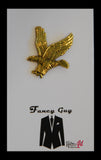 Gold Eagle Lapel Pin - Fancy Guy by Retro Lil
