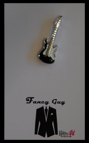 Electric Guitar Lapel Pin - Fancy Guy by Retro Lil