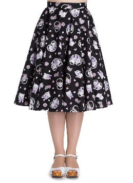 Hell Bunny Amelia 50s Swing Skirt Rockabilly Retro Pinup