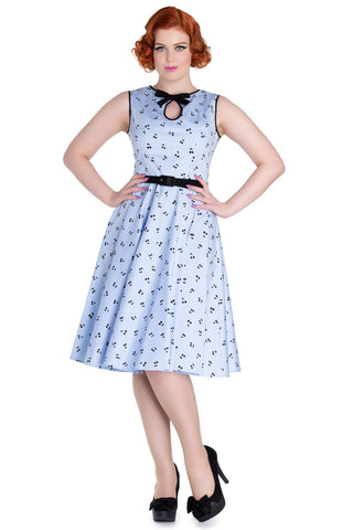 Hell Bunny Martina Dress Rockabilly Retro Pinup