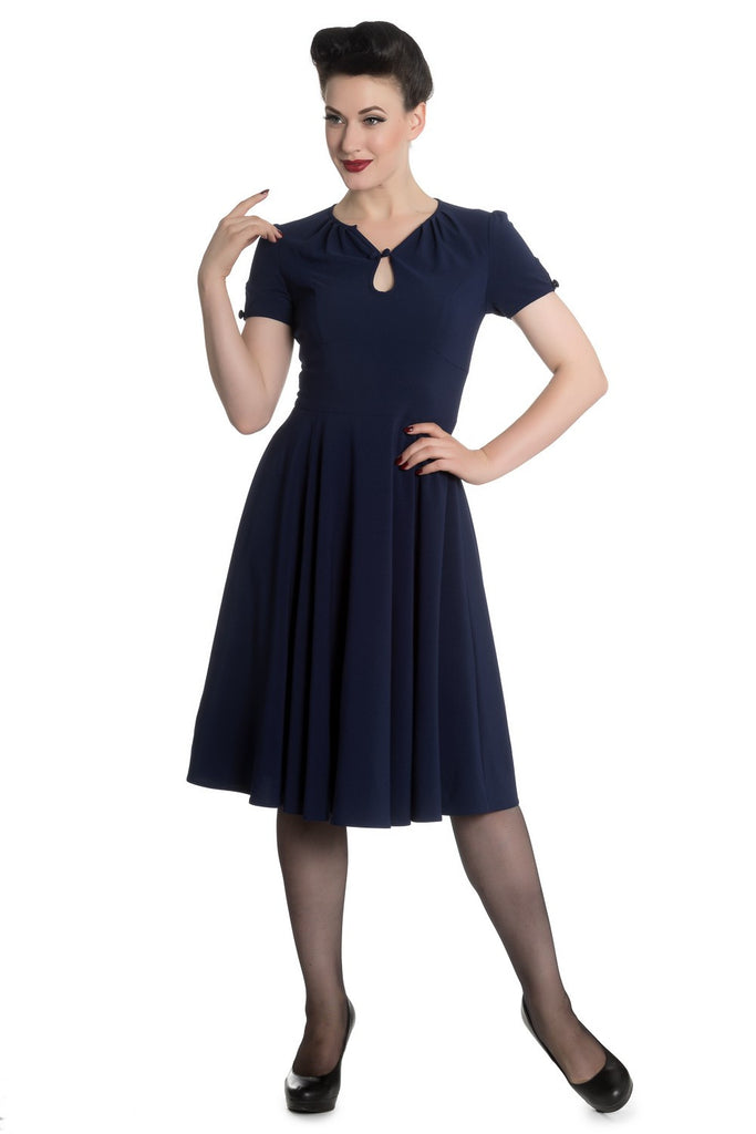 Hell Bunny Riley Dress Rockabilly Retro Pinup