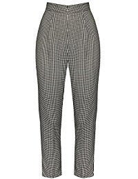 Hell Bunny Parker Cigarette Trousers Rockabilly Retro Pinup