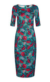 Collectif Indi Dandy Floral Dress