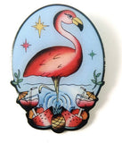 The Flamboyant Flamingo Brooch by Jubly Umph