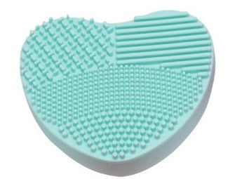 Makeup Brush Scrub Pad - Various Colours