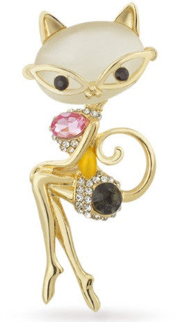 Purrfect Pinup Brooch