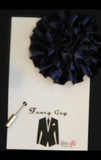 Navy Rosette Lapel Pin - Fancy Guy by Retro Lil