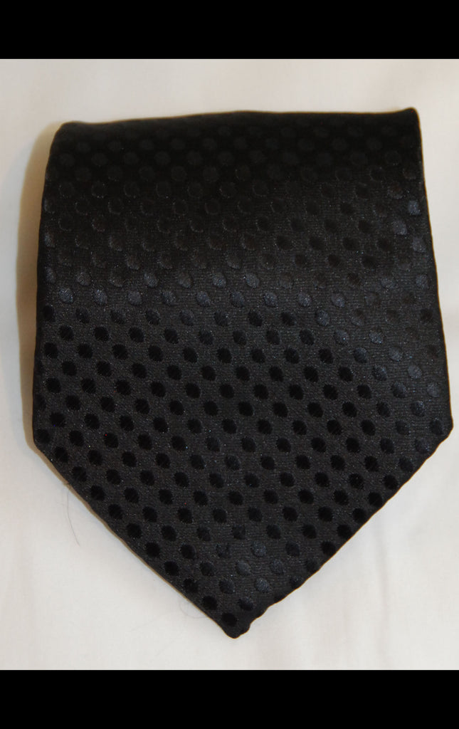 Black Dot Tie - Fancy Guy by Retro Lil