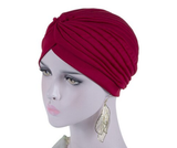 Wine Red vintage style turban
