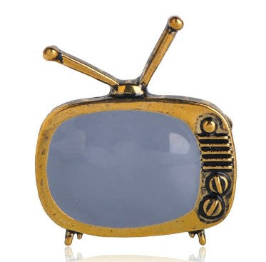 Vintage TV Brooch