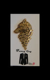 Wilfred Wolf Gold Lapel Pin