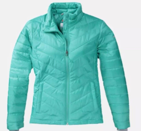 Columbia Womens Morning Light Ii Extended S Omni Heat Down
