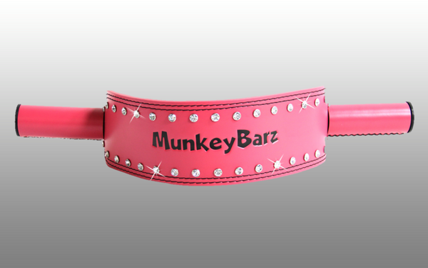 MunkeyBarz sex belt - pink