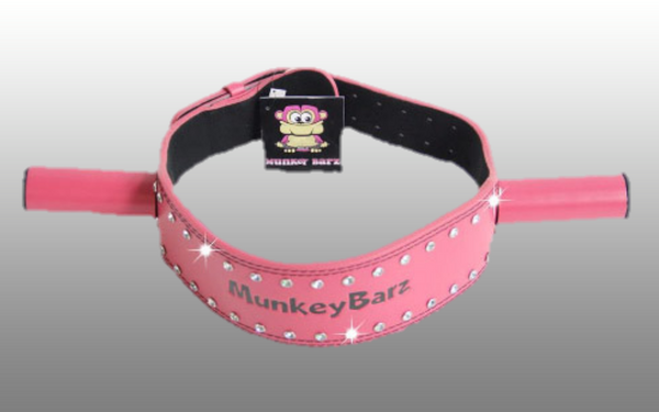 MunkeyBarz sex belt pink