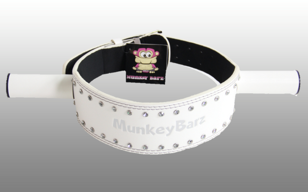 MunkeyBarz sex belt white
