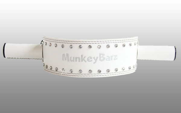 MunkeyBarz sex belt - white