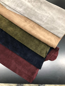 Leather Hides & Fur Pelts - wholesale-leather   SPC - osm-leather-usa Chrome Tanned Split Cowhide Split Leather Hide 3-4 Oz (Four Different Colors) - genuine-leather