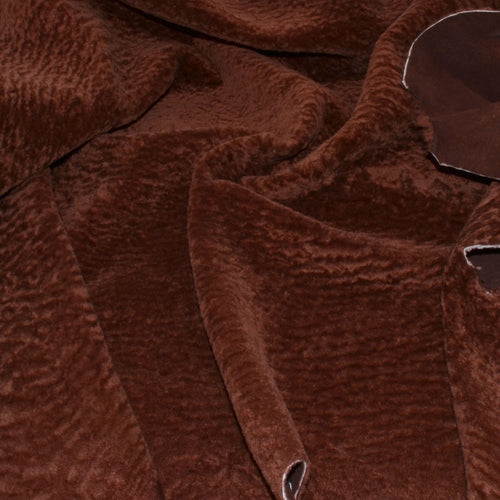 - wholesale-leather   osmleatherusa - osm-leather-usa Shearling- Baby Astragan Toasted Brown - genuine-leather