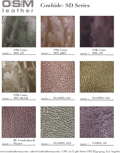 - wholesale-leather   osmleatherusa - osm-leather-usa Digital Cowhide Catalog - genuine-leather
