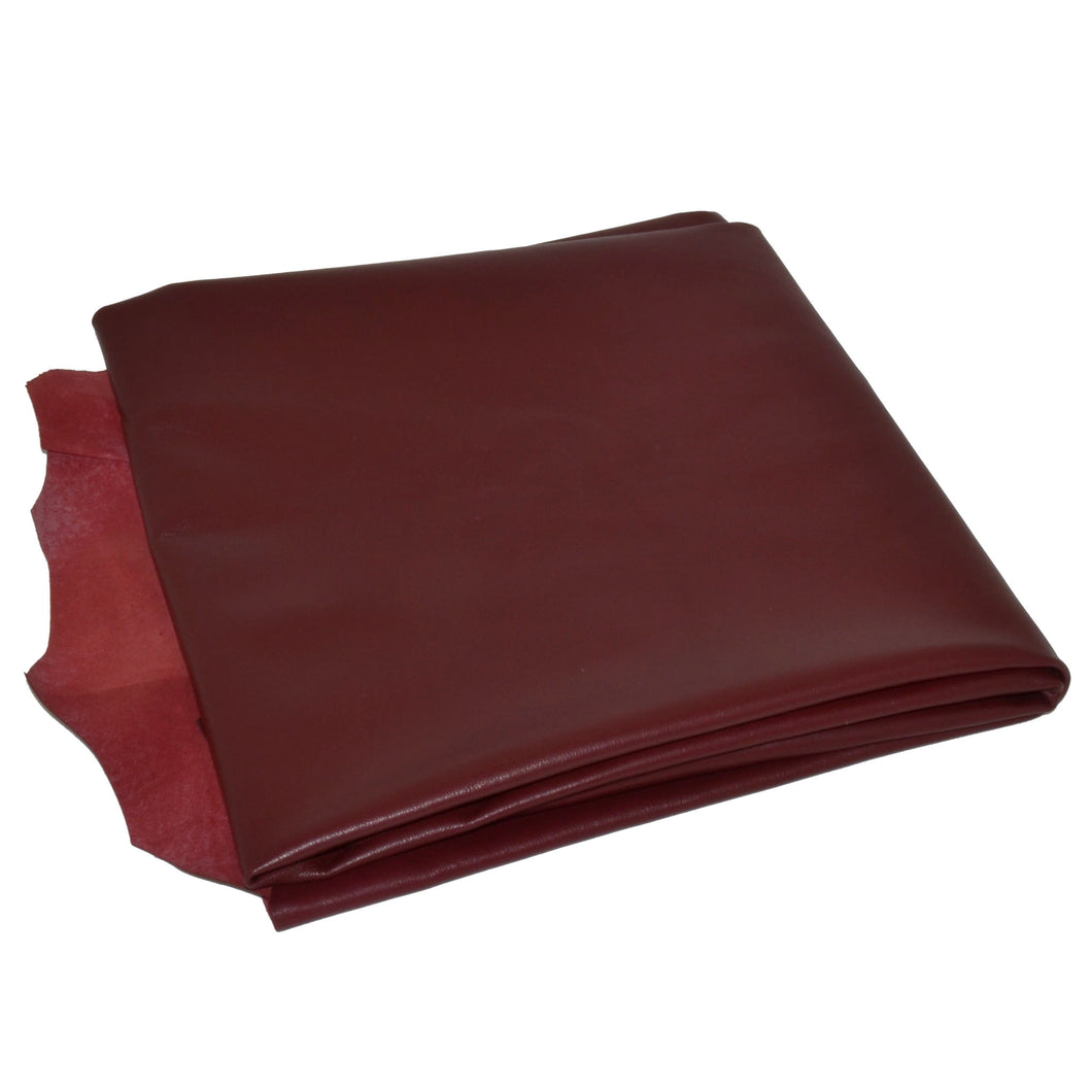 - wholesale-leather   osmleatherusa - osm-leather-usa Ferrari  Wine Red (Semi Aniline Lambskin) - genuine-leather