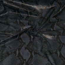 - wholesale-leather   osmleatherusa - osm-leather-usa Suede with Python Print GV032817-04 - genuine-leather