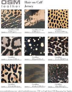 - wholesale-leather   osmleatherusa - osm-leather-usa Digital Hair on Calf Catalog - genuine-leather