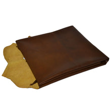 - wholesale-leather   osmleatherusa - osm-leather-usa Naturel Lambskin Leather Brown with Yellow Back (SKY5) - genuine-leather