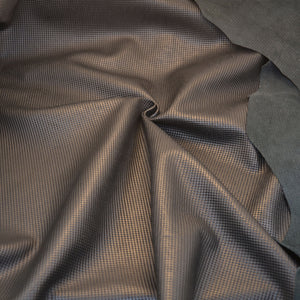 - wholesale-leather   osmleatherusa - osm-leather-usa Embossed Grid Lambskin PB166 - genuine-leather