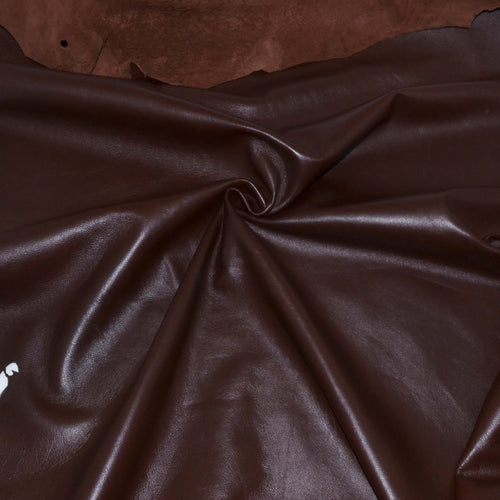 - wholesale-leather   OSM Leather USA - osm-leather-usa Roza Economic Lambskin Napa Leather for Lining, Garments (TABA BROWN) - genuine-leather
