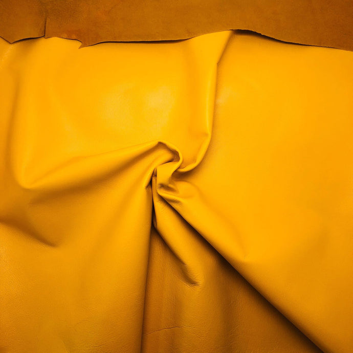 - wholesale-leather   OSM Leather USA - osm-leather-usa Roza Economic Lambskin Napa Leather for Lining, Garments (YELLOW) - genuine-leather
