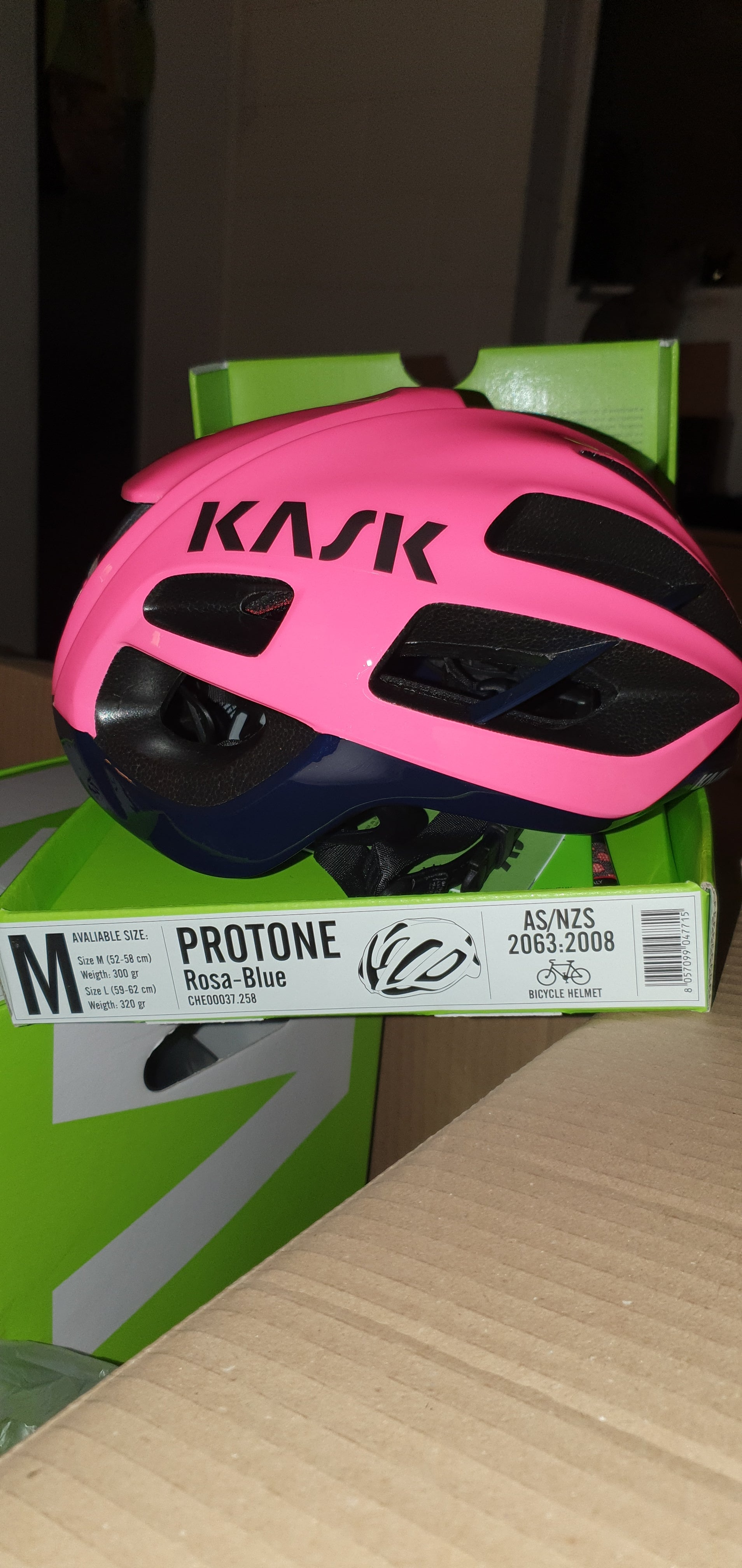 KASK Protone Pink Size M.