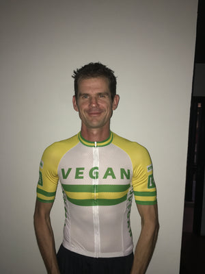 Vegan Cycling Jersey 40USD