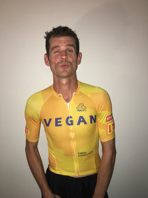 Vegan Cycling Jersey  (back in stock!)