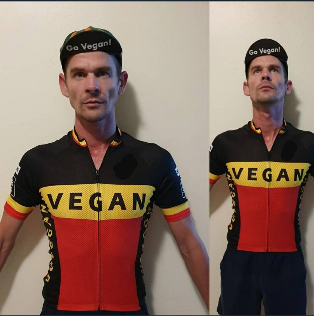 Vegan Cycling Jersey 45USD