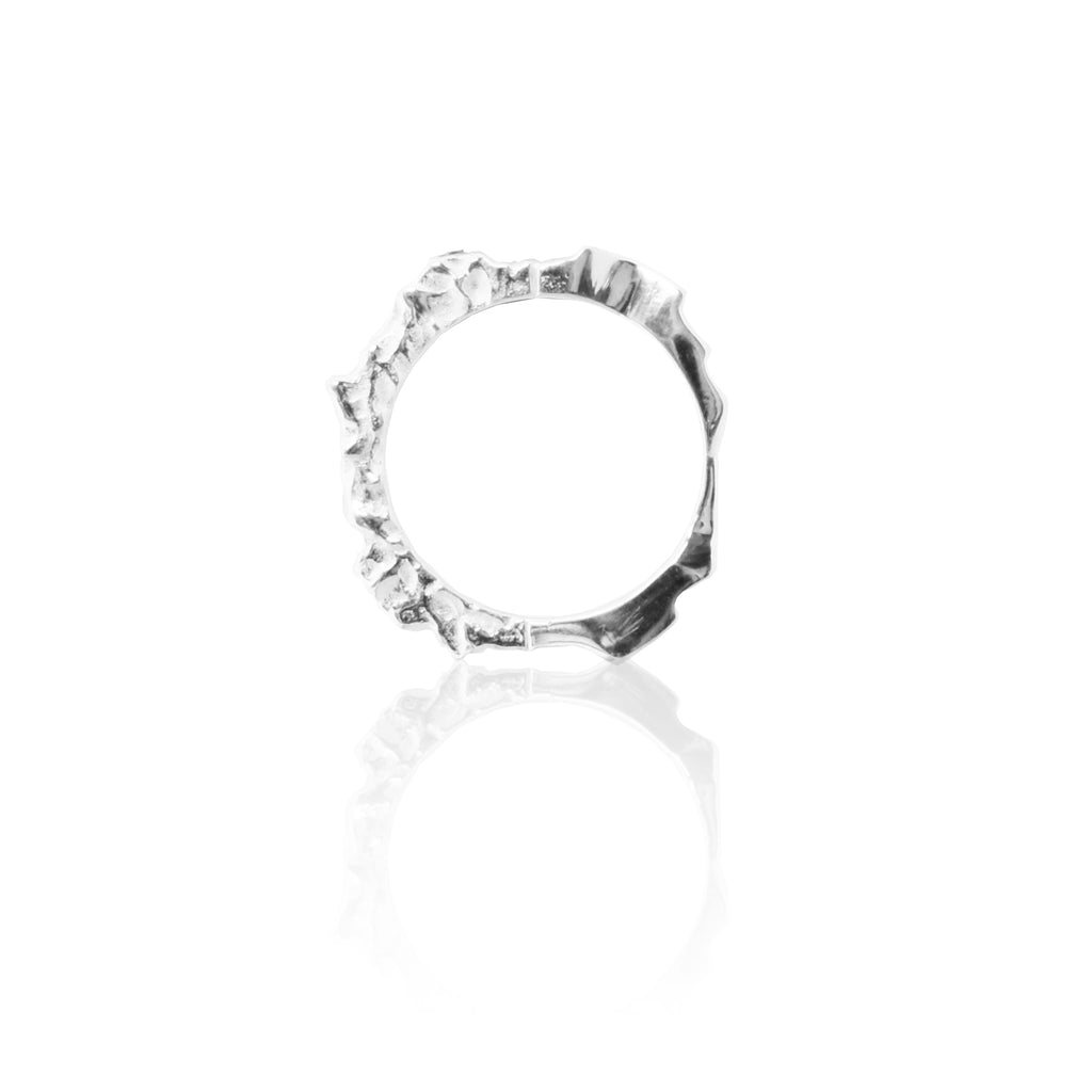 Crush Ring SILVER