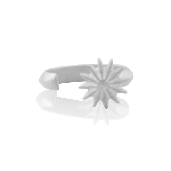 Open Flower Ring SILVER
