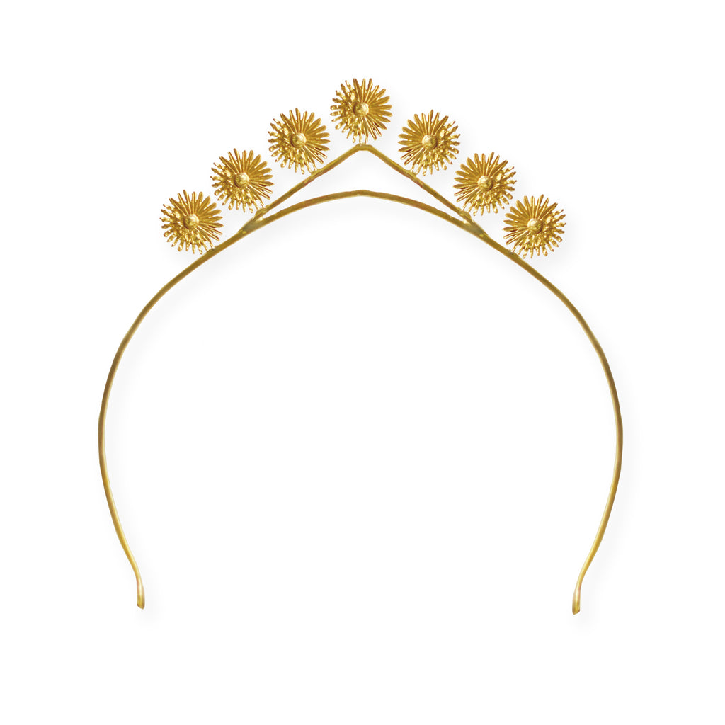 Moody As Flower Crown BRASS