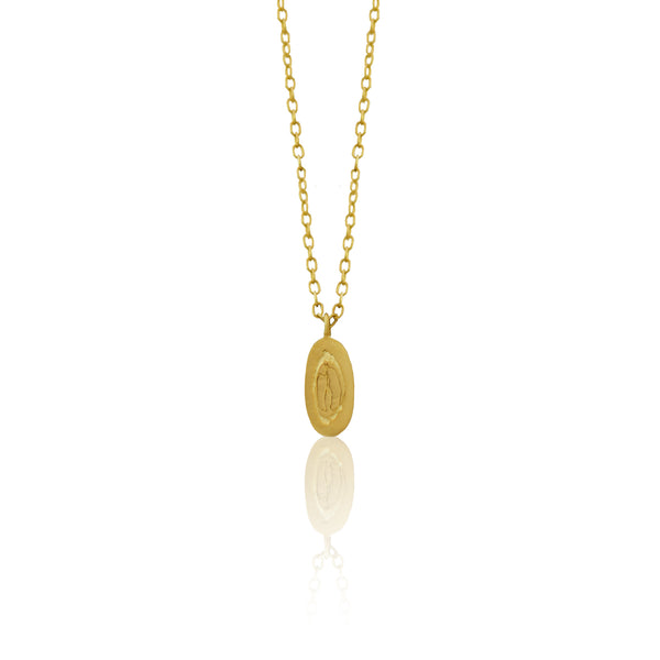 Half Lemon Pendant GOLD