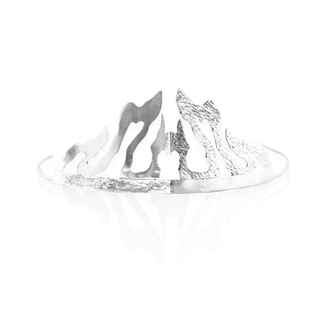 Crushed Heart Tiara SILVER