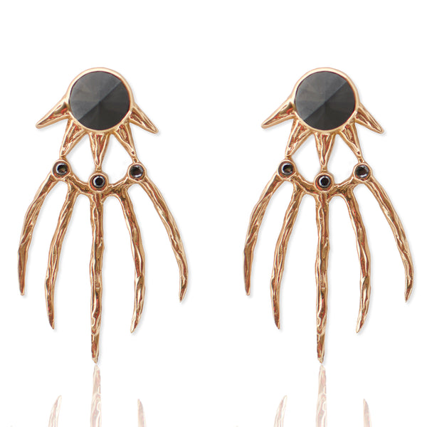 Dark Claw Earrings GOLD
