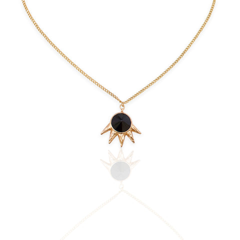 Dark Spike Necklace GOLD