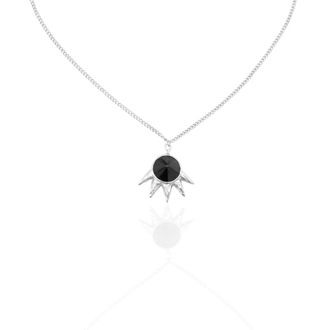Dark Spike Necklace SILVER