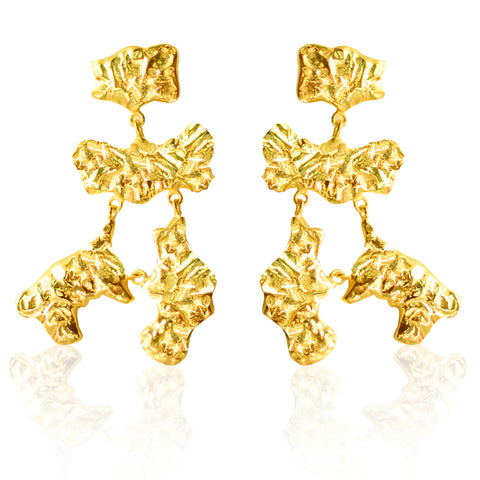 BLING Earrings GOLD