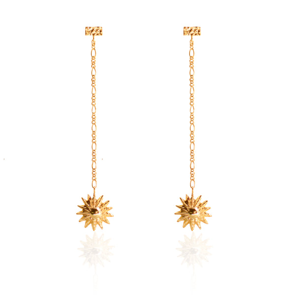 POWER OF THE FLOWER Earrings GOLD