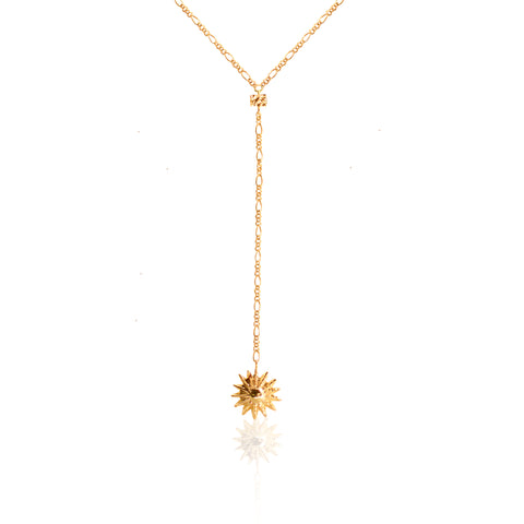 POWER OF THE FLOWER Necklace GOLD