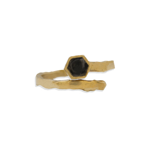 Midnight Bolt Ring BRASS